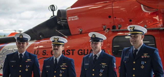 Coastie Crew Receives Prestigious National Honors for Daring Rescue (with Video)