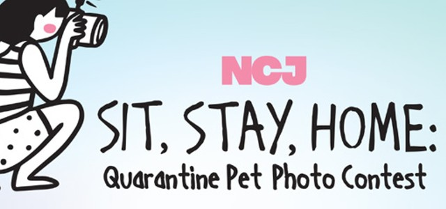 NCJ Sit, Stay, Home: Quarantine Pet Photo Contest