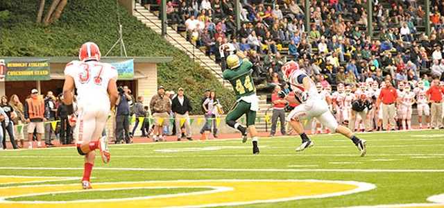Boosters Connect on Hail Mary, Save HSU Football