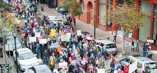 Eureka Women's March 2018 Hits Streets Saturday
