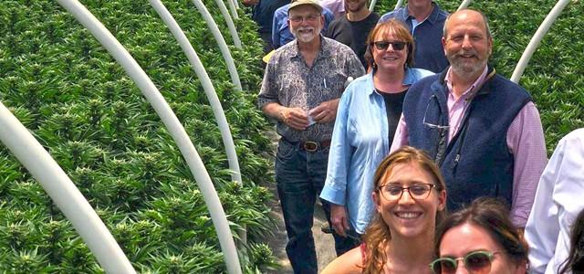 Visitors Bureau Takes Cannabis Fact Finding Tour