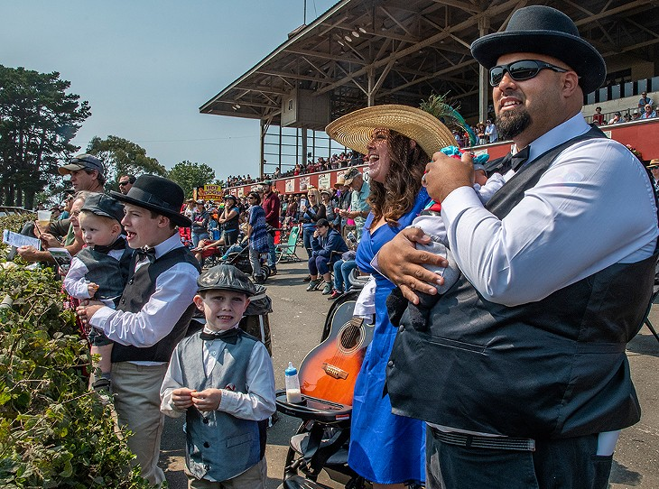 Hat Day at the Races 2018