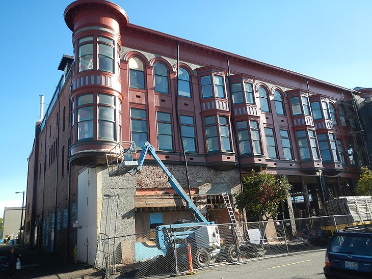 Carson Block Building Restoration - Existing Turret Restoration