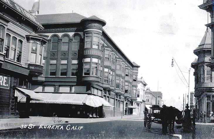 Carson Block Building Restoration - Archival Photos