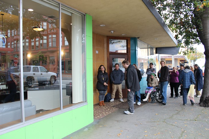 First Day of Recreational Cannabis Sales in Humboldt