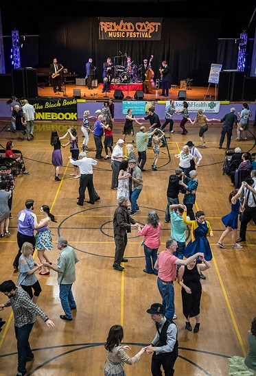 Redwood Coast Music Festival, Saturday and Sunday