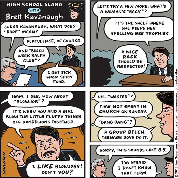 High School Slang According to Brett Kavanaugh