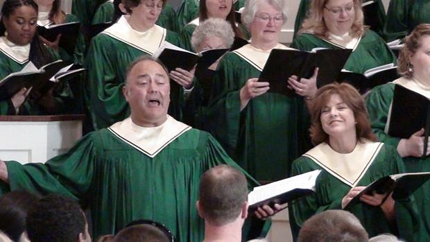 Mike Gibbs, Soloist, Ferndale Community Choir