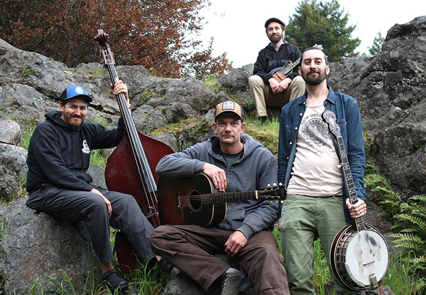 The No Good Redwood Ramblers play Humboldt Brews at 9:30 p.m. on Friday, April 12.