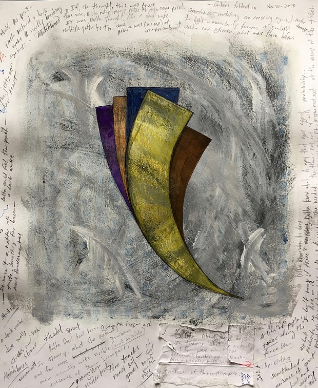 """Delta Comes Alongside"" by Jason M. Marak at Redwood Art Association."