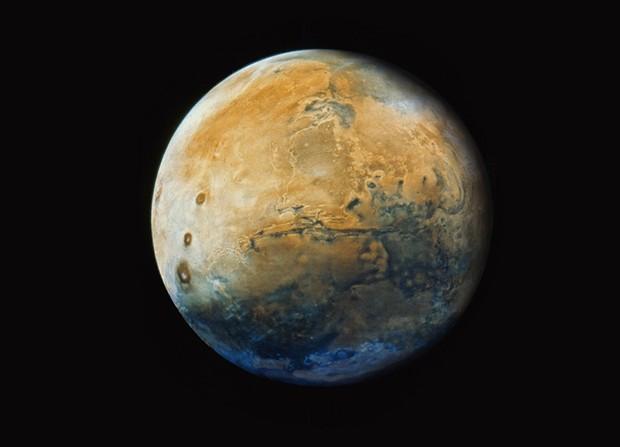 Make Mars Great Again! Mars now.