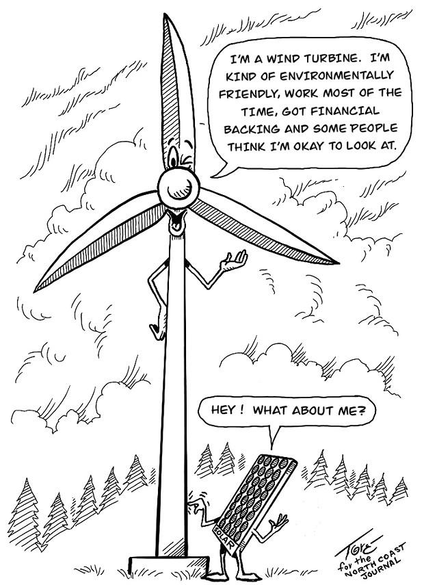 'I'm a Wind Turbine'
