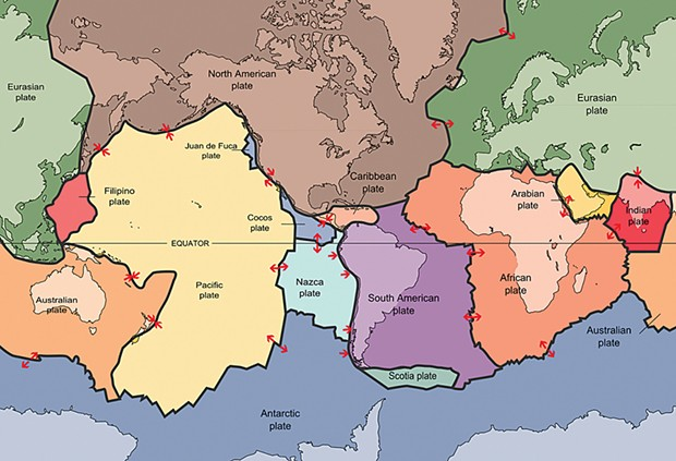 """It took confirmation of sea floor spreading in the early 1960s to validate Alfred Wegener's 1912 """"continental drift"""" model of Earth's lithosphere (crust) existing as separate, floating tectonic plates."""