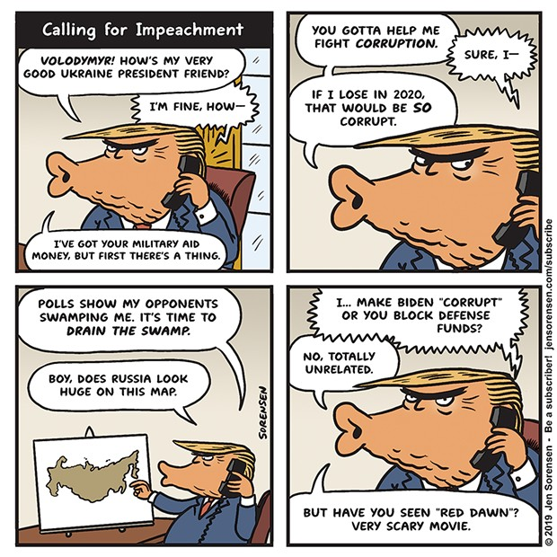 Calling for Impeachment
