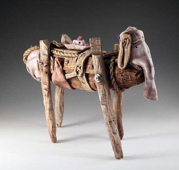 Keith Schneider, ceramics, at Arcata Artisans.