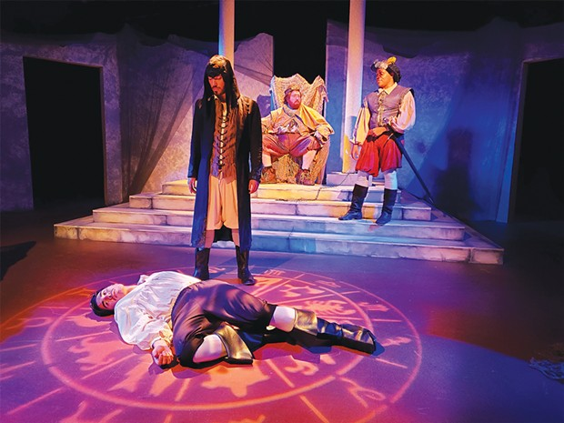 Victor Parra, Alejandro Torres, Jesse Chavez and Andrew Hempstead in NCRT's dreamy fairy tale.