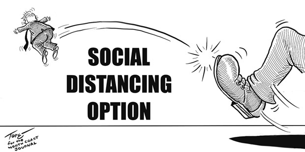 Social Distancing Option