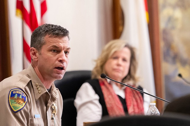 Sheriff William Honsal and Public Health Officer Teresa Frankovich feel Humboldt County is well positioned to be released from certain shelter-in-place provisions ahead of other parts of the state.