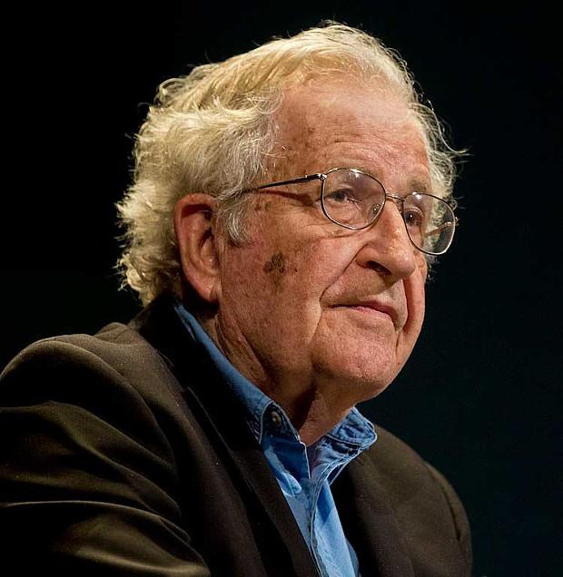 Noam Chomsky in 2016.