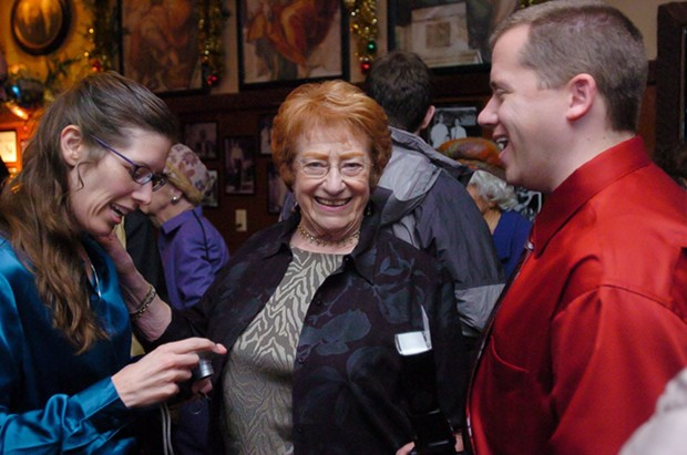 Ida Newell at her 85th birthday party at Roy's Club in Eureka in 2007.
