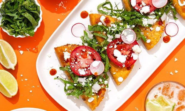 Chicano Eats author Esteban Castillo's tacos de papa inspired by his grandmother's cooking.