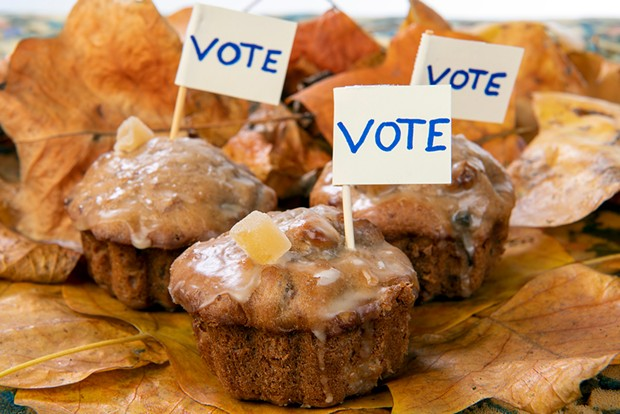Election cake for our times: spicy, boozy and individually portioned.