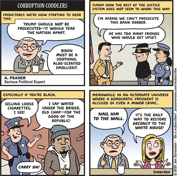 Corruption Coddlers