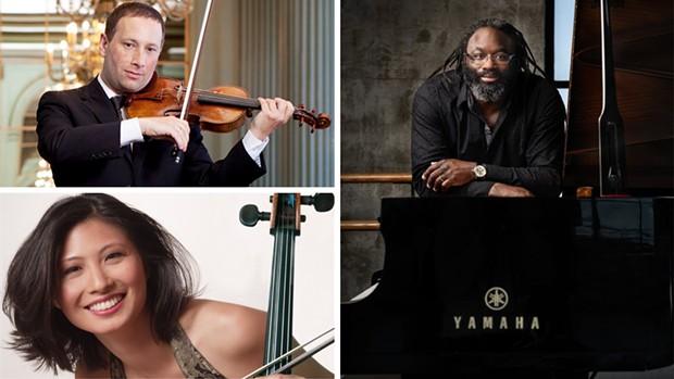 Trio Duende; Tom Stone, Sophie Shao, Awadagin Pratt