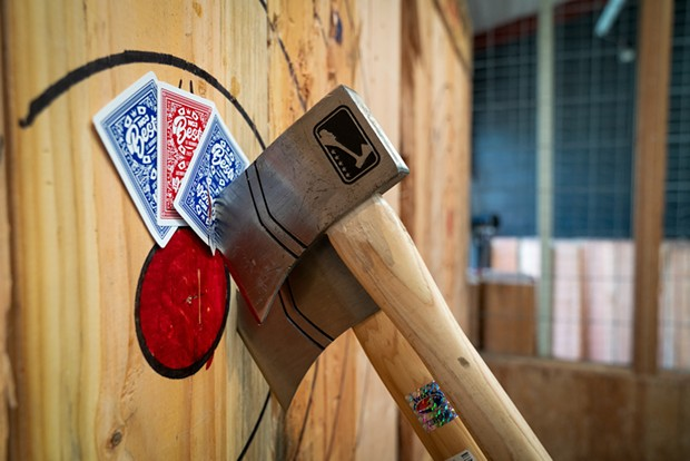 Best Place to Break Up with Someone: Hatchet House Throwing Club