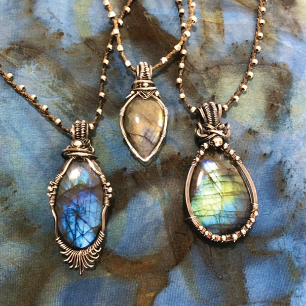 Jewelry by Drew Forsell at Trinidad Art Gallery