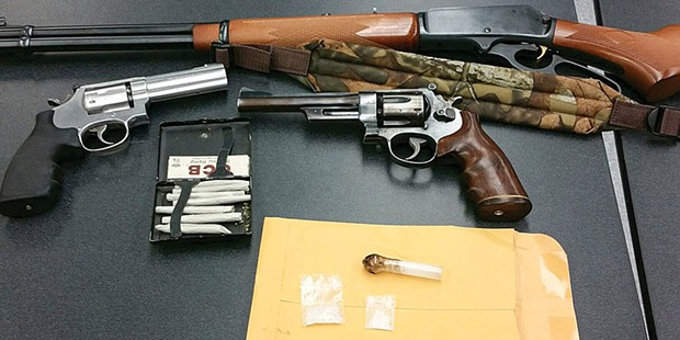 The Eureka Police Department seized more than six firearms per 1,000 city residents in 2015, a rate that nearly equals those of police departments in Oakland, Baltimore and Chicago combined.