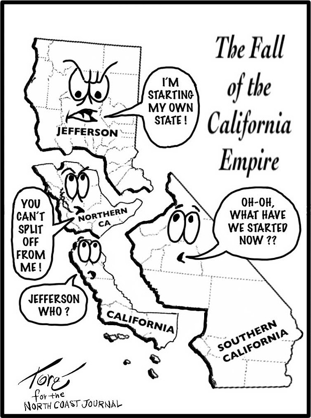 The Fall of the California Empire