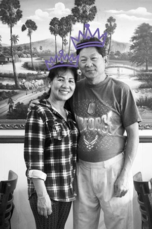 Annie and Chin Chau, owners of Annie's Cambodian, voted Humboldt's Best Chinese Food. Seriously. - AMY WALDRIP