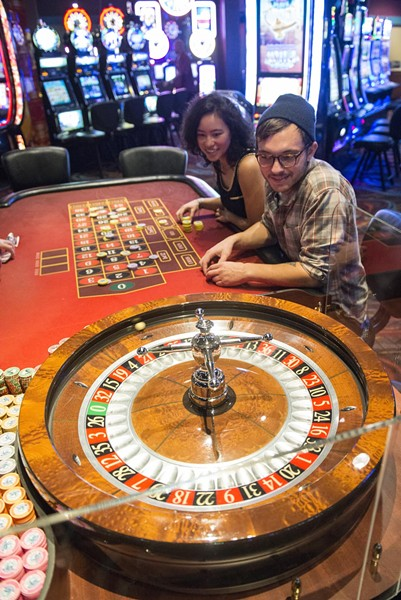 Roulette at Cher-Ae Heights. - MARK MCKENNA