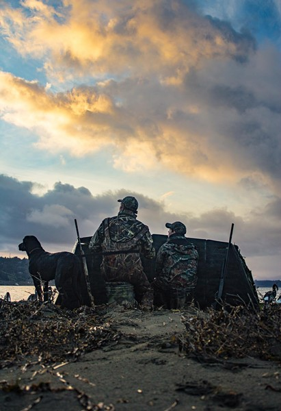 Guided waterfowl hunts. / Courtesy of Pacific Outfitters - JASON SELF