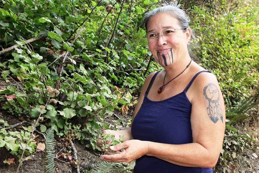 Elizabeth Azzuz, one of several tribal members interviewed for the Civil Eats article. - CIVIL EATS