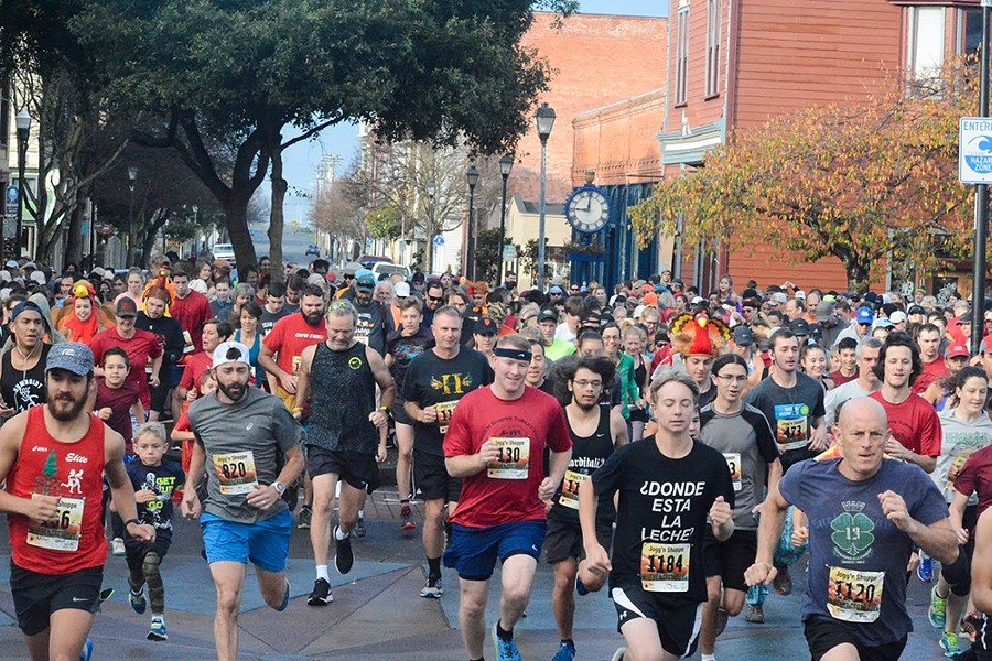 Joggn'N Shoppe Turkey Trot - PHOTO COURTESY OF SIX RIVERS RUNNING CLUB