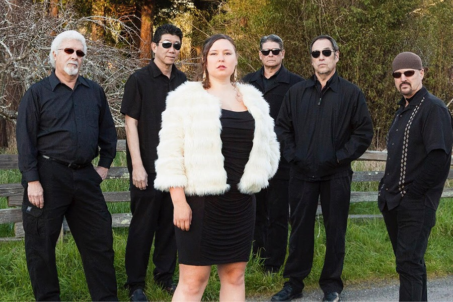 Claire Bent & Citizen Funk play at the Palm Lounge at 9 p.m. on Friday, Nov. 23. - COURTESY OF THE ARTIST
