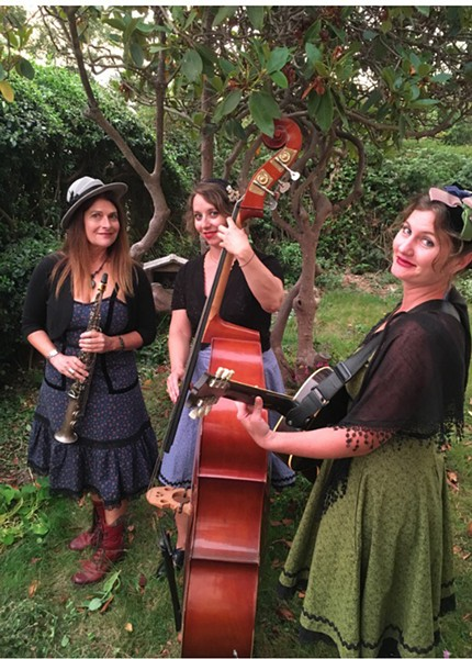 Belles of the Levee play The Jam at 9 p.m. on Thursday, Dec. 20. - COURTESY OF THE ARTISTS