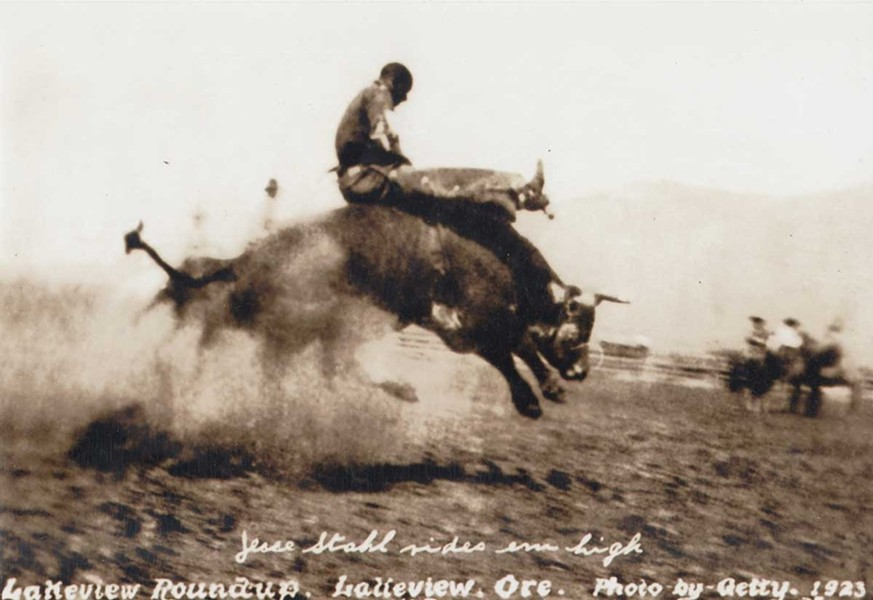 "A photo of African American rodeo rider Jesse Stahl from ""Champions of the Rodeo."" - FILE"