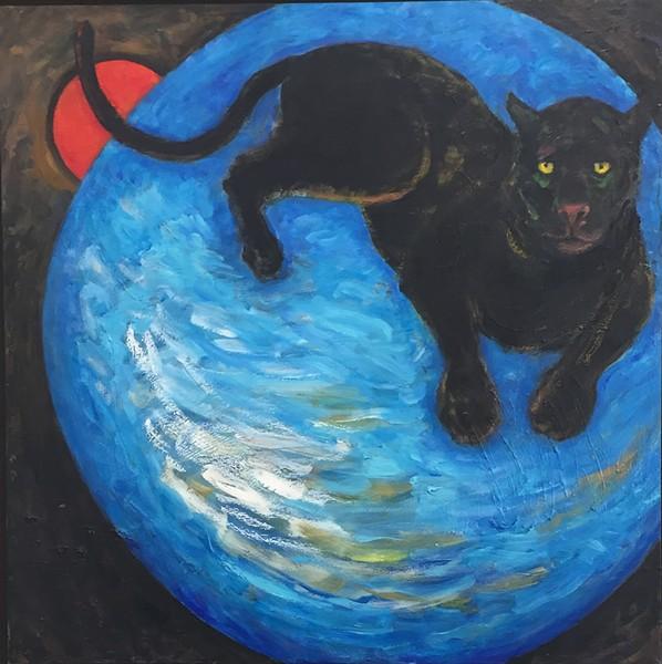 "Harry Blumenthal's dream-inspired ""Anima Mundi,"" (2012). . - COURTESY OF THE ARTIST"