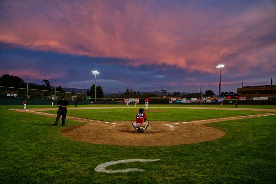 Crabs take the field under a breathtaking sunset - MATT FILAR