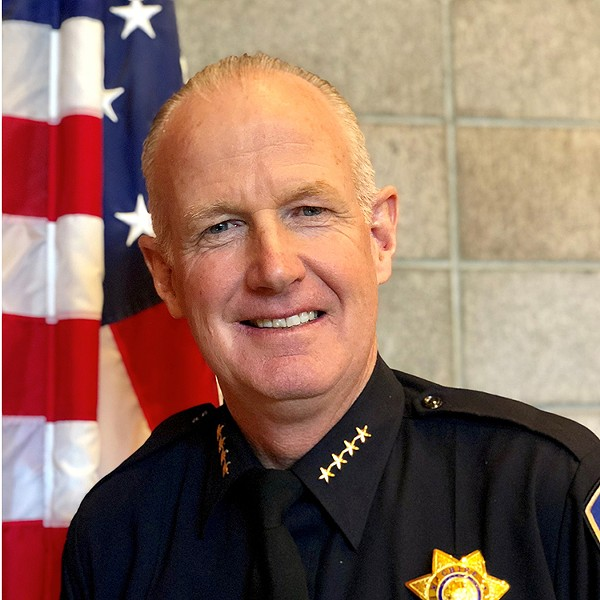 Arcata Police Chief Brian Ahearn - SUBMITTED