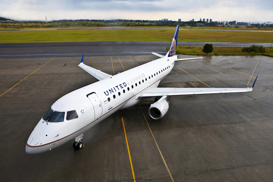 The new, bigger jet that will be coming into the Arcata-Eureka airport. - UNITED