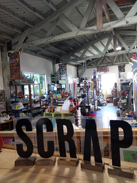 The store by the Arcata Marsh. - COURTESY OF SCRAP HUMBOLDT