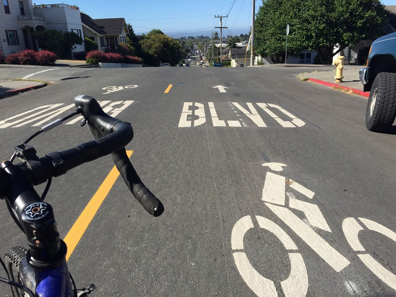 Hello, bike boulevard! - JENNIFER SAVAGE