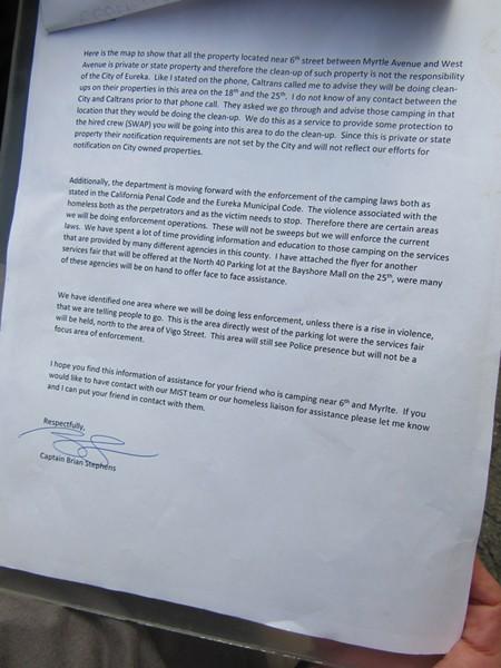 Letter from Capt. Stephens. - LINDA STANSBERRY