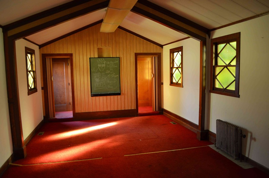 Inside the chapel of the former Trinity Hospital. - GRANT SCOTT-GOFORTH