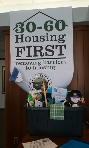"A local outreach group is coordinating ""welcome home"" gifts for the newly housed. - LINDA STANSBERRY"
