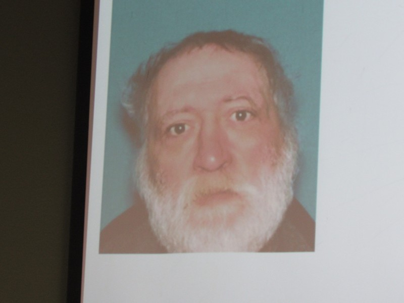 A photo of Fulton, as displayed at the press conference. - LINDA STANSBERRY